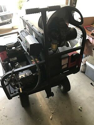 Shark Pressure Washer - Gas Powered Electric Start Hot Water