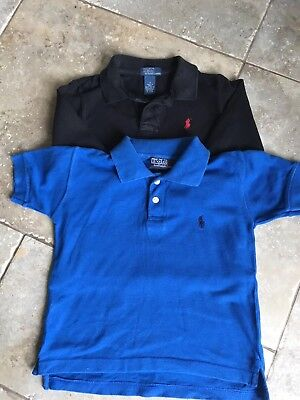BOYS RALPH LAUREN POLO T- SHIRTS 3-4 YEARS x2