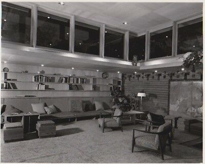 Frank Lloyd Wright Guggenheim Exhibition house Original Photo - Pedro Guerrero 2