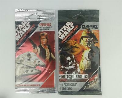 Star Wars Pocket Model TCG Trading Card Game Game Pack x 2
