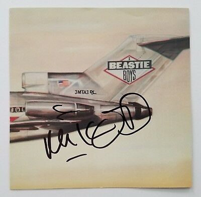 Mike D Signed Beastie Boys Licensed To Ill CD Booklet Hip Hip LEGEND RAD