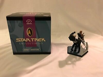 Applause Star Trek Deep Space Nine Sisko Way o/t Warrior Lmtd Edition Miniature