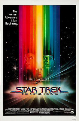 Star Trek: The Motion Picture 3 Movie Poster Canvas Picture Art Print A0 - A4