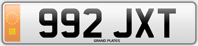 Dateless number plate 992 JXT UK NON DATING CHERISHED REGISTRATION JT INITIALS