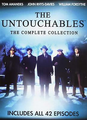 The Untouchables Complete Collection All 42 Episodes DVD Set Seasons 1-2 Seires
