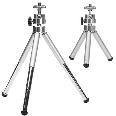 Mini Aluminum Alloy Desktop Tripod 3 Section Stand Holder for Projector Camera