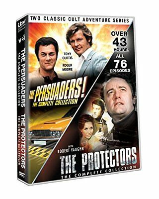 The Persuaders Protectors Complete Collection DVD Set Episode All Series Season
