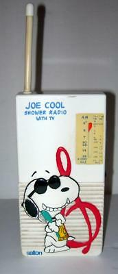 "Vintage Joe Cool Shower Radio ""works Good"""