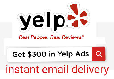 300$ Yelp Ads credit