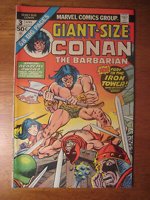 Giant-Size Conan The Barbarian #3, 1975 (Vf) Gil Kane Art!