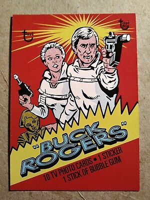 2018 Topps 80th Anniversary Wrapper Art Card #68 - 1979 Buck Rogers/248*