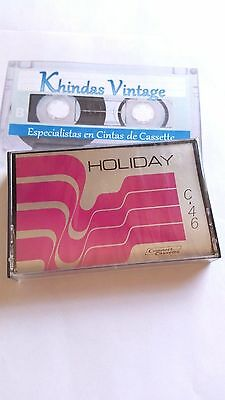 CASSETTE TAPE BLANK SEALED - 1x (one) HOLIDAY C-46 - RARE - made in Spain IEC-I