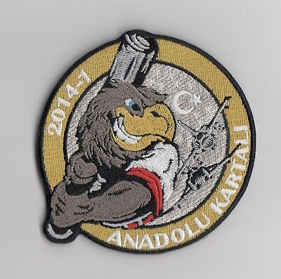 Turkish Air Force - Exercise Anatolian Eagle 2014-1  patch  -   2nd Version
