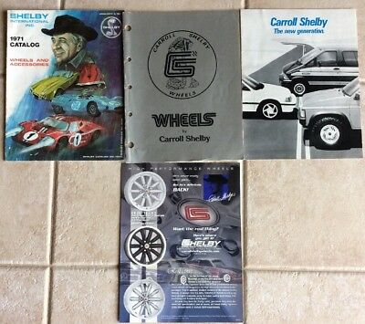 Carroll Shelby Brochure Collectibles