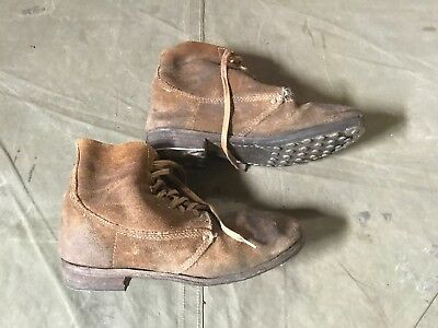 63Z Wwi Us M1917 Trench Boots- Size 10