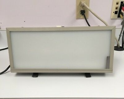 "Star X-Ray 15"" x 7"" Dental View Box Model DE100GY Wall Mount/Desktop PreOwned"