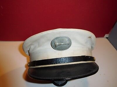 Vintage Fire Lieutenant Uniform Hat
