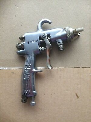 Binks Model 2100 Spray Gun 66SSx66SD Nozzle Set Up for siphon, 1.8. refurbished