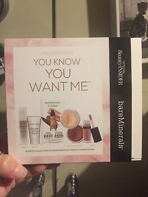 bareMinerals you know you want me Sephora 6 piece SET lip face powder primer X2