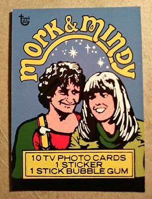 2018 Topps 80th Anniversary Wrapper Art Card #67 - 1978 Mork & Mindy/248* SP