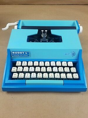 Vintage 1976 Buddy L. Easy-Writer Typewriter Table Top For Kids Made In Japan