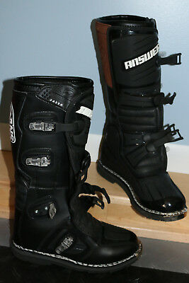 """NEW WITHOUT TAGS Motocross Boots ANSWER """"Fazer"""" motorcycle riding size men's 9"""