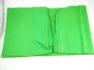 Beautiful Polyester Saree Green