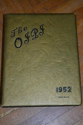 Macon High School Year Books, Macon MO, 1952& 1954