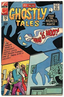 Ghostly Tales 102 Feb 1973 VG (4.0)