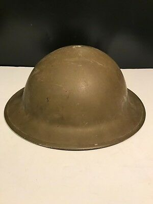 Antique World War WW1 Authentic Doughboy US Army Helmet With Liner - A MUST SEE