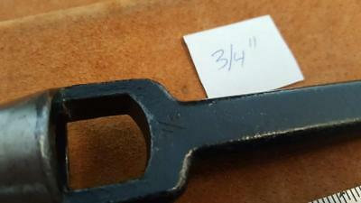 "size 3/4"" C. S. Osborne & Co leather hole punch leather tools"
