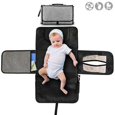 Buyger Portable Nappy Baby Changing Mat Foldable Diaper Changing Pad Home Travel