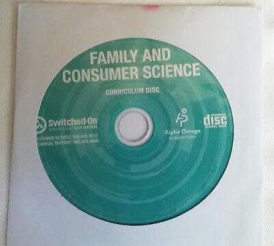 Switched on Schoolhouse - Family and Consumer Science - Home Economics Elective