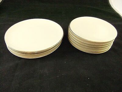 """Vintage National Airlines plates 8 1/4"""" and 6 7/8"""" By Jackson China"""