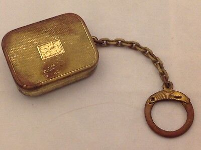 Vintage Reuge Ste. Croix Music Box Key Chain Plays Music Switzerland