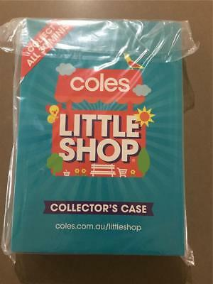 NEW  Coles Little Shop Mini Collectors Case Folder Book ( RARE) New Sealed.