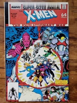 X-Men Annual #12, Marvel, 7.5 VF-