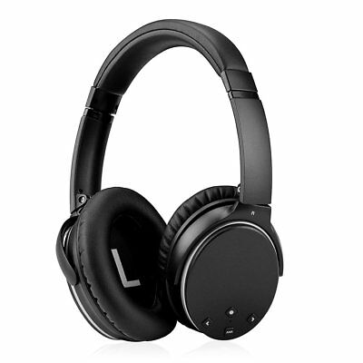 Active Noise Cancelling Wireless Bluetooth Over-Ear Stereo Headphones With Mic