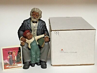 Miss Martha Holcombe Frederick Douglass All God's Children Resin Figurine + Box