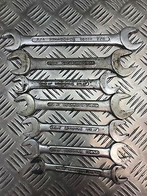 Sidchrome Spanners Made In Australia Old Tools