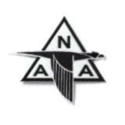 North American Aviation Embroidered Patch, Vintage Aviation, NAA  BOE-0123