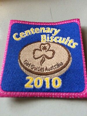 Girl Guides / Scouts Centenary Biscuits 2010