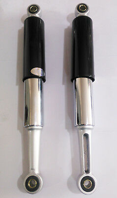 12//10mm *HONDA CT70 CT90 CT200 CT110 CL50 SS50 S65 REAR SHOCK ABSORBER *CHROME*