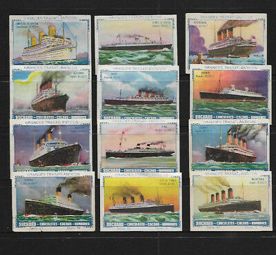 "Set Of Transatlantic Liners By ""suchard"""