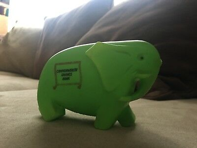 Old Commonwealth Bank Elephant Moneybox