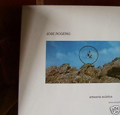 JOSE ROGERIO,ARTESANIA ACUSTICA lp m(-)/m(-) 0103are music  made in germany