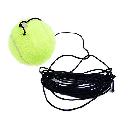 Exercise Sports Tennis Training Ball With String Rope Trainer Train Tool SE