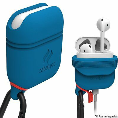 Catalyst Waterproof Apple AirPods Case-Hassle Free Charging Airpods (Blue Ridge)