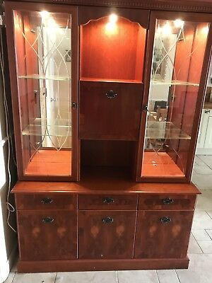 Mahogany Display Unit/Dresser