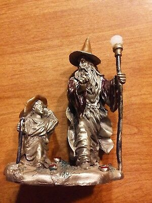Rawcliffe Pewter RF695(1990) The Little Wizard And The Master(Peter C Sedlow)
